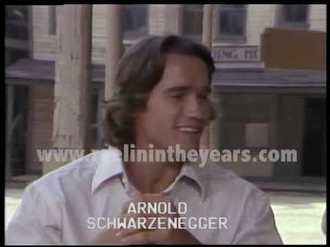 Arnold Schwarzenegger Interview 1979 Brian Linehan's City Lights