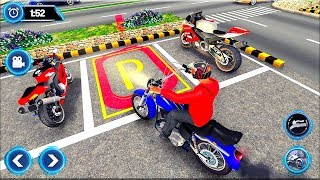 US Motorcycle Parking Off Road Driving Games - Gameplay Android game