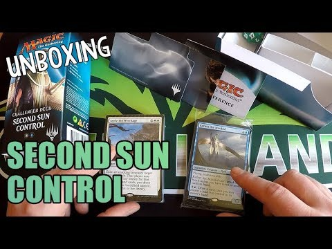 Challenger Deck Second Sun Control Unboxing + Review [Deutsch]