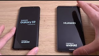 Samsung Galaxy S9 vs Huawei Mate 10 Pro - Which is Fastest?
