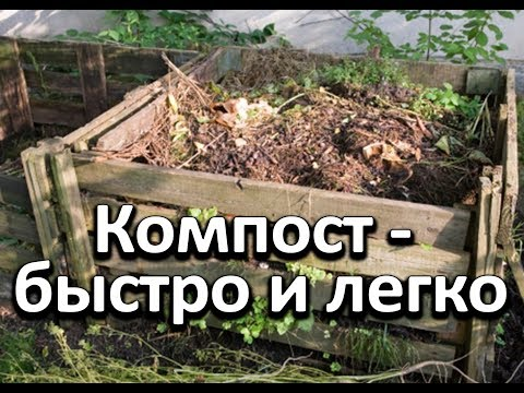 Вопрос: Почему компост готовится без доступа воздуха На воздухе нельзя делать?