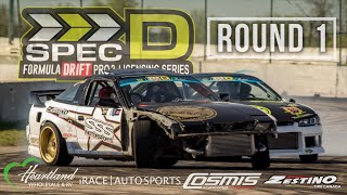 Spec D Round 1 - Road to the Championship