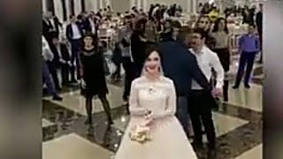 Драка за свадебный букет
