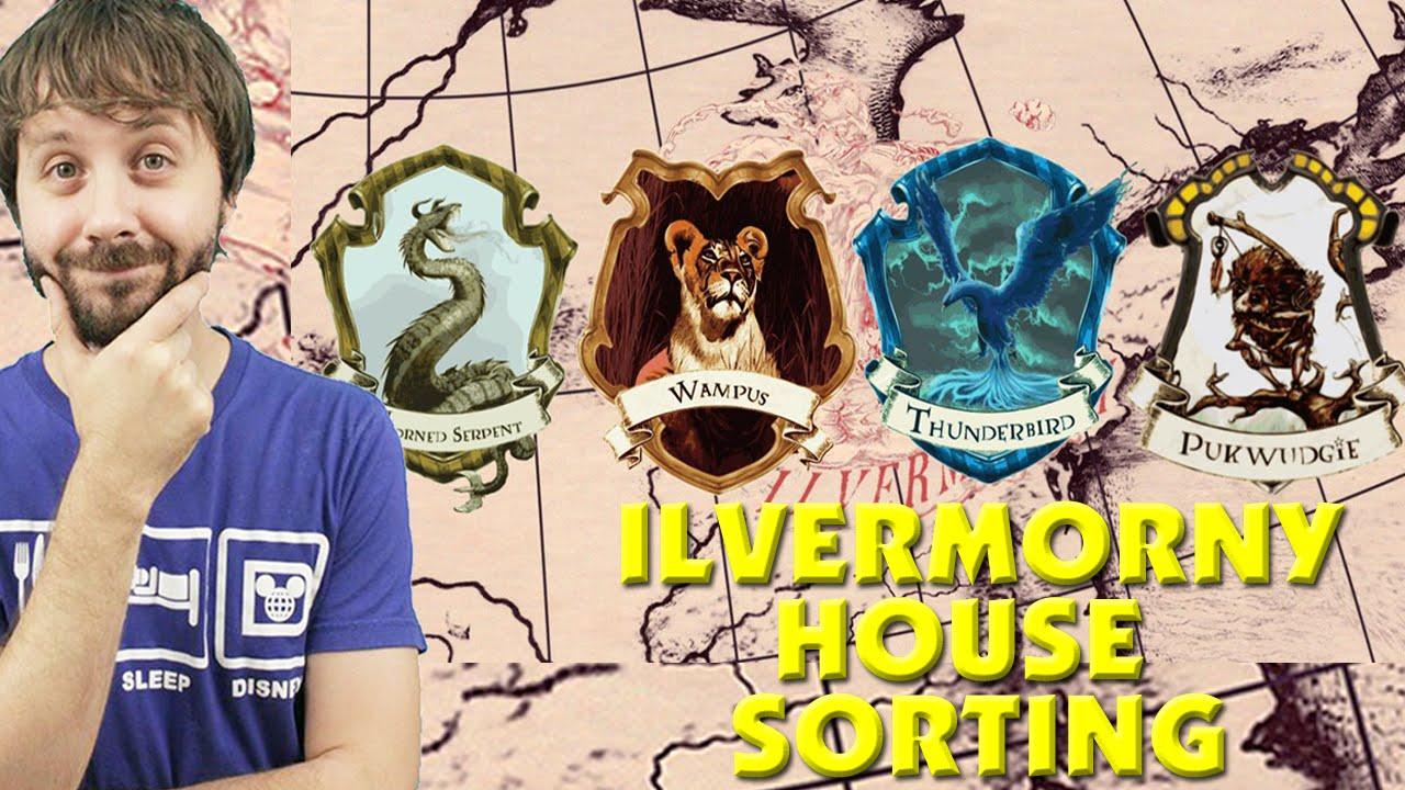 Ilvermorny Häuser