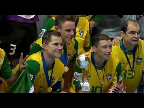 FUTSAL World Cup Final Thailand 2012 Brasil vs Spain_Highlights and Final Ceremony