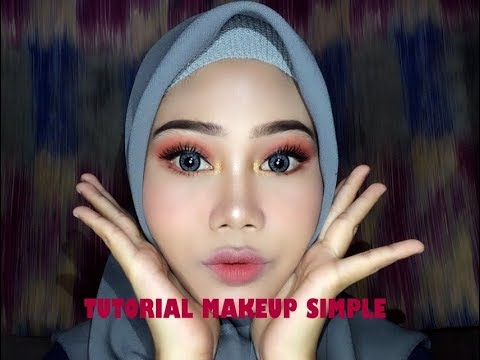 tutorial-makeup-simpel-ombre-lips-(-best-affordable-eyeshadow-palette)