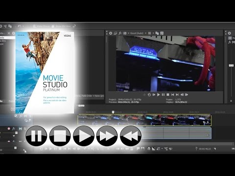 Vegas Movie Studio 14 Platinum: How to Speed up and Slow Down Footage