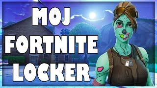 MOJ FORTNITE LOCKER !!! *GHOUL TROOPER*
