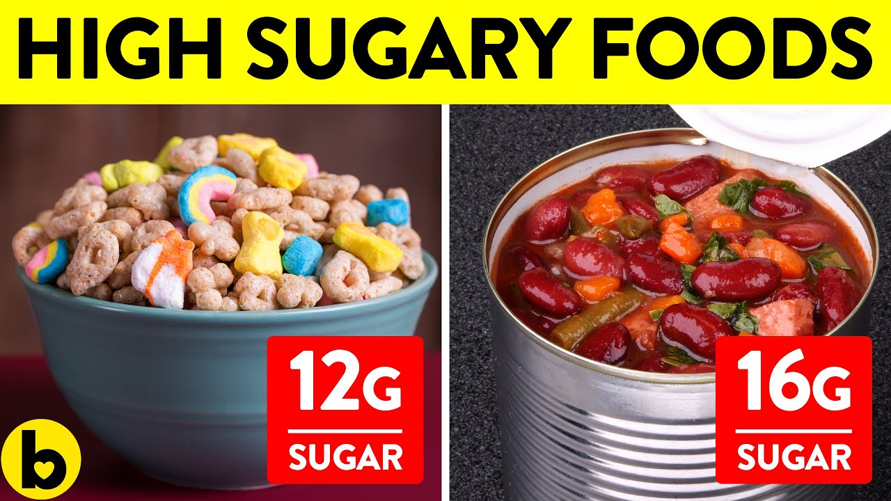 6 Foods with more hidden Sugar than it seems