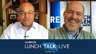 Rich Eisen previews NFL draft, The Rich Eisen Show on NBCSN | Lunch Talk Live | NBC Sports