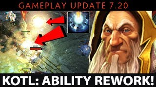 Dota 2 NEW 7.20 Patch - Keeper of the Light: Ability Rework - OLD KOTL from DotA 1?
