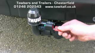 Towbar Video - Peugeot 4007 Thule Brink Detachable