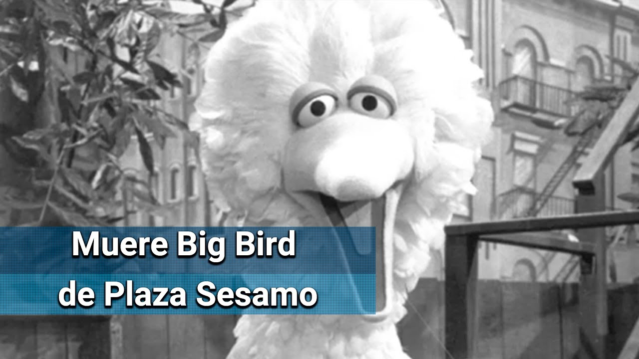 Muere Caroll Spinney Le Dio Vida A Big Bird En Plaza Sesamo