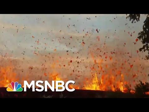 Explosive Eruption' At Hawaii Volcano, Ash Plum Soars 30k Feet | MSNBC