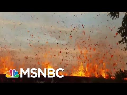 Explosive Eruption' At Hawaii Volcano, Ash Plum Soars 30k Feet | MSNBC