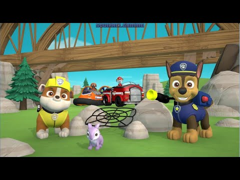 PAW Patrol On A Roll | Pups Save The Bunnies
