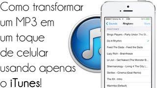 Como transformar um MP3 em um toque de celular usando apenas o iTunes! - Tutorial - iDeviceNewz