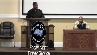 """IOG - Friday Prayer Night 09212018 - """"Why Lord, Why?"""""""