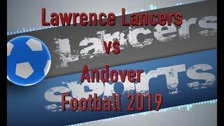 LHS Football vs Andover 2019
