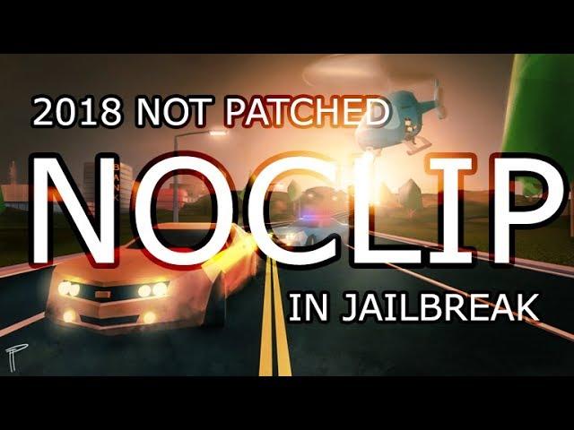 HOW TO NOCLIP - ROBLOX JAILBREAK