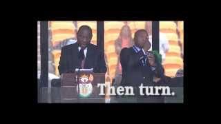 nelson mandela sign language interpreter with subtitles