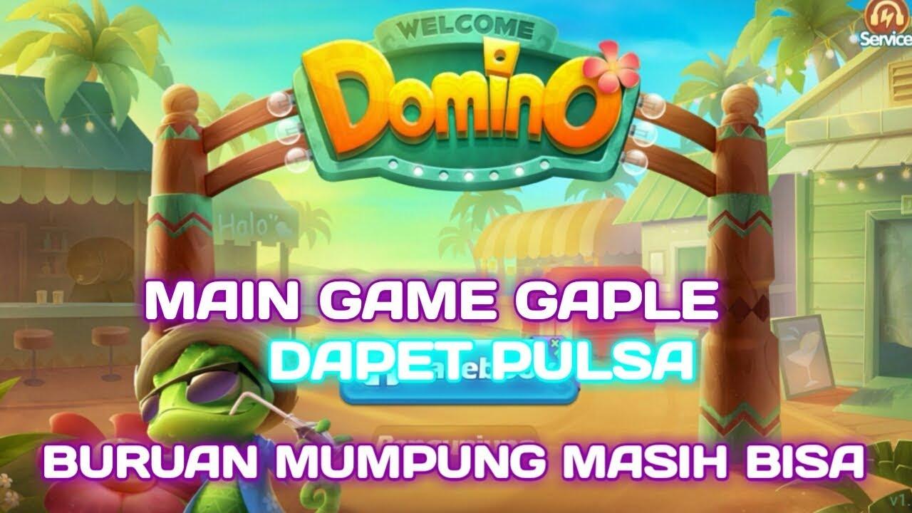 Cara main game gaple domino island dapat pulsa 25 ribu ...