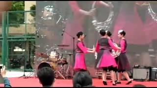 新界鄉議局大埔區中學-苗族舞,大埔青年藝術節表演