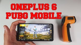 60 FPS PUBG MOBILE OnePlus 6 Gaming test/Adreno 630/Snapdragon 845 High settings HDR extreme mode
