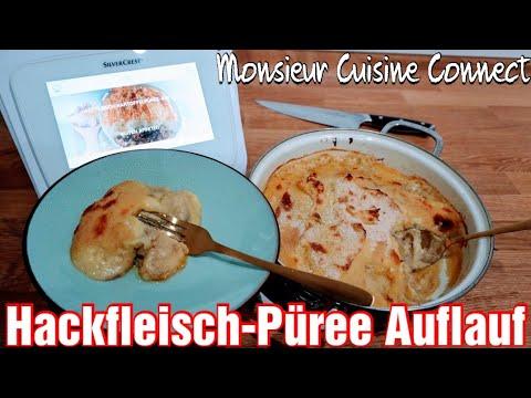 MCC - Schnelles Gericht | Hackfleisch-Kartoffelpüree-Auflauf | Monsieur Cuisine Connect | Rezepte