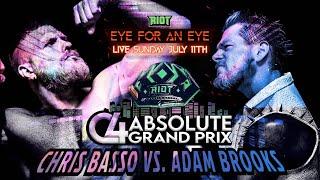 Chris Basso vs. Adam Brooks   C4 ABSOLUTE GRAND PRIX   Match 4