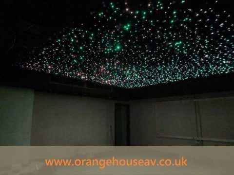 Fibre Optic Star Ceiling You