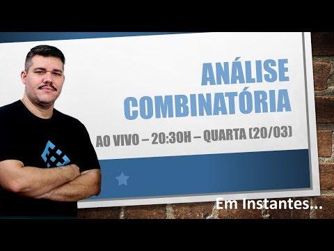 AO VIVO - Análise Combinatória -  1