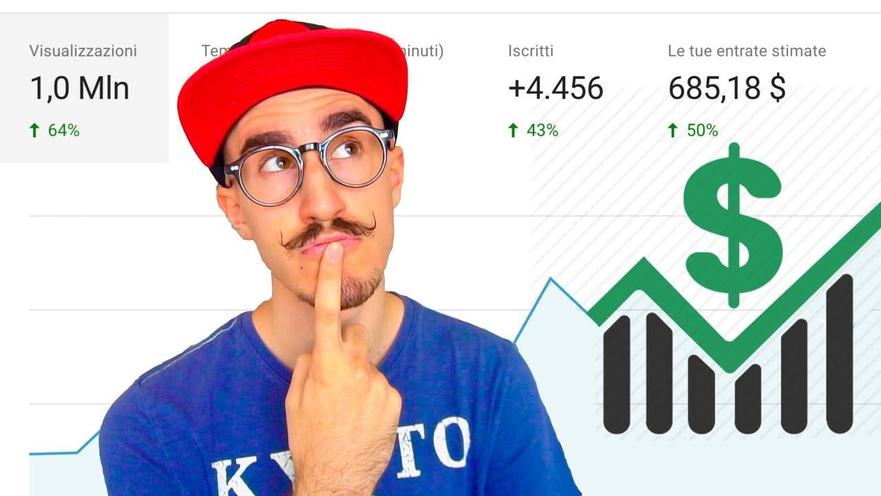guadagno video youtube quanti nodi sono in bitcoin