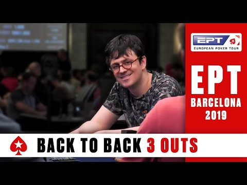 EPT BARCELONA Main Event, Day 4 (Cards-Up) - Part 1