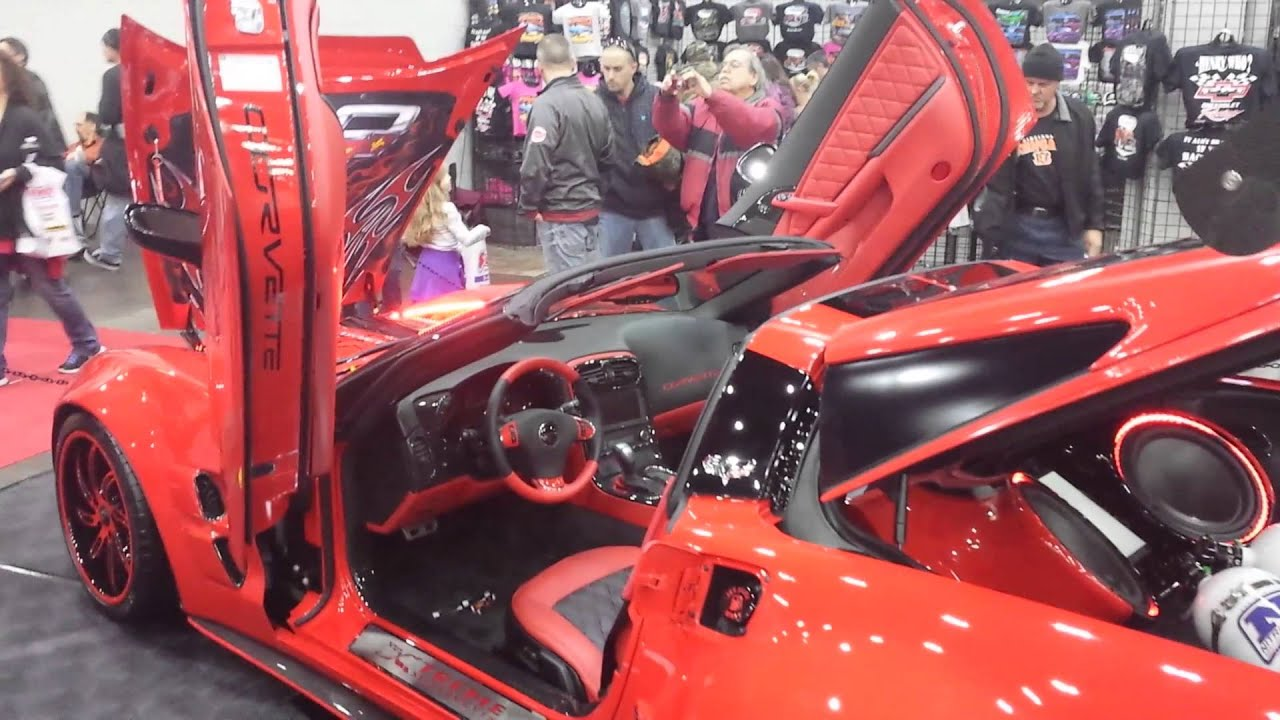 Cavalcade Of Customs >> Custom 2013 Corvette- Cavalcade of Customs 2015 - YouTube