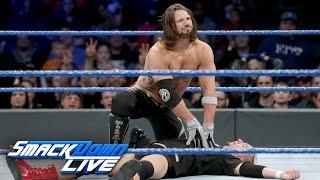 james ellsworth vs aj styles wwe championship match smackdown live dec 20 2016