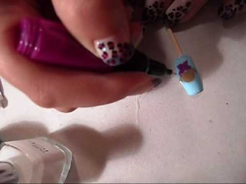 Dora The Explorer Nail Art Youtube