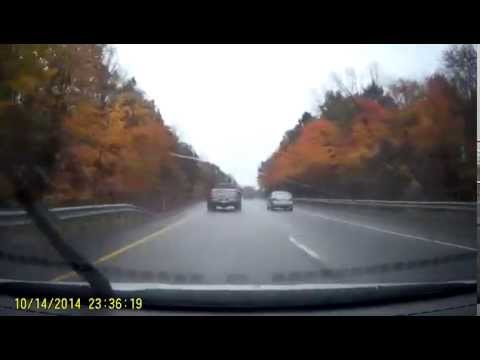 Dash Cam:Whiteford & Son Trucking. Driver Being A Bully On The Highway!