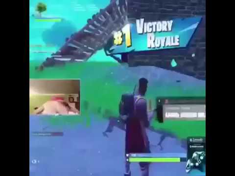 Ninja twerking after getting a VICTORY ROYALE - YouTube