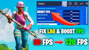 How To BOOST Your FPS & FIX Textures In Fortnite! - Full Guide For Best Performance!