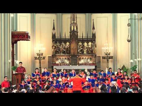panis angelicus - Koor St Angela, konser Natal 24-12-2016