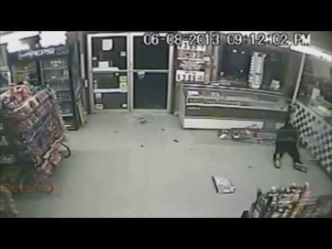 Robbery Fail, The Store Clerk Defends Himself by Shooting them Before the Robbers Could do Something