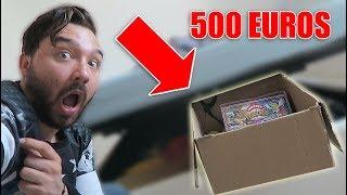 JE RETROUVE UN CARTON POKEMON SECRET A 500 EUROS  ( émotion )