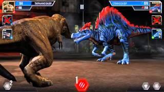 Jurassic World Android game (iOS/Android) Схватка динозавров 27 уровень.