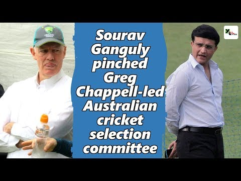 Watch: Sourav Ganguly pinched Greg Chappell-led Australian cricket selection committee