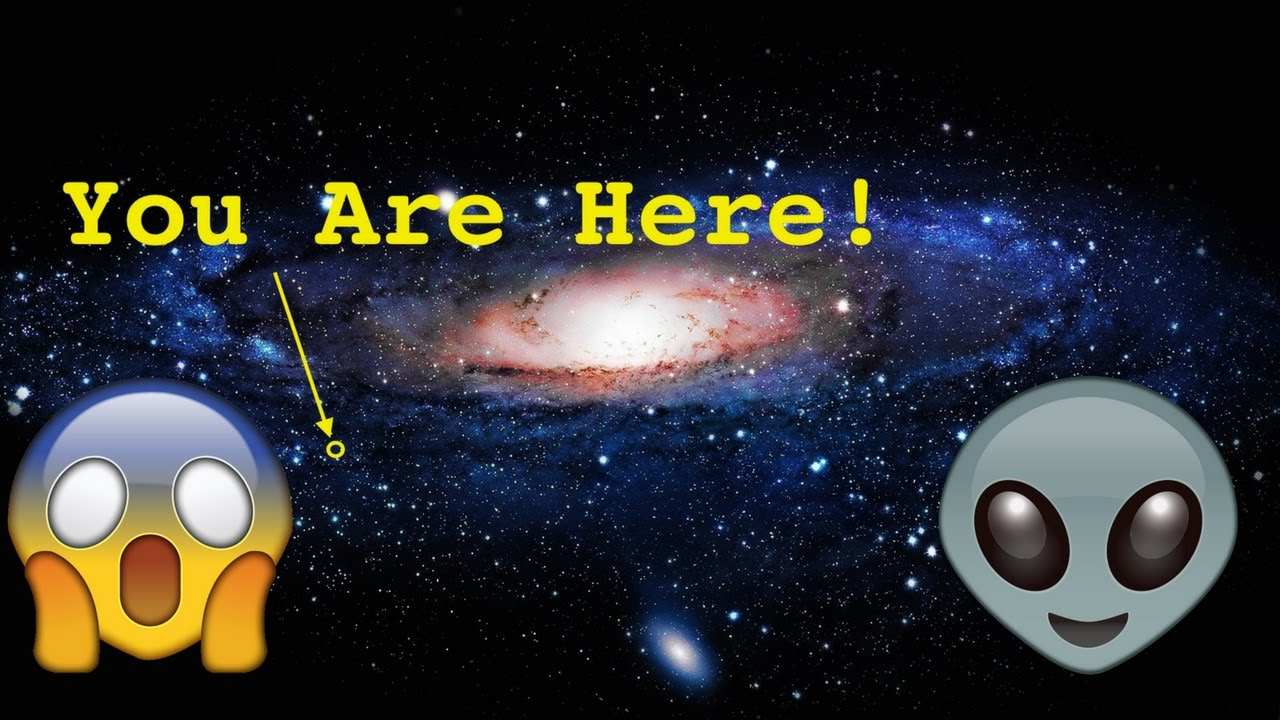 How small we are our solar system is our galaxy is youtube - Galaxy and planets ...