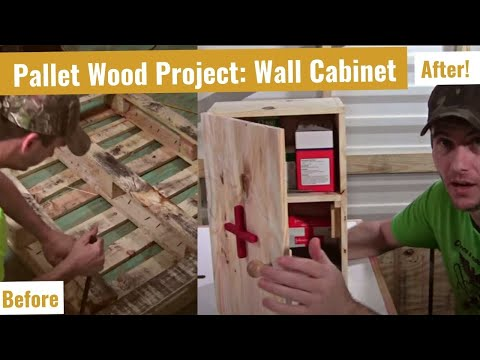 Make a First Aid Cabinet for the Shop