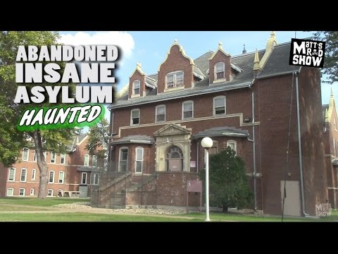 ABANDONED - HAUNTED INSANE ASYLUM - Anoka, Minnesota - Matts Rad Show