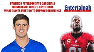 New York Giants- Patrick Peterson says they found how to beat Daniel Jones! How Giants must adjust