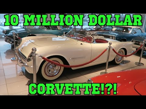 10 million dollar corvette. Black Bedroom Furniture Sets. Home Design Ideas